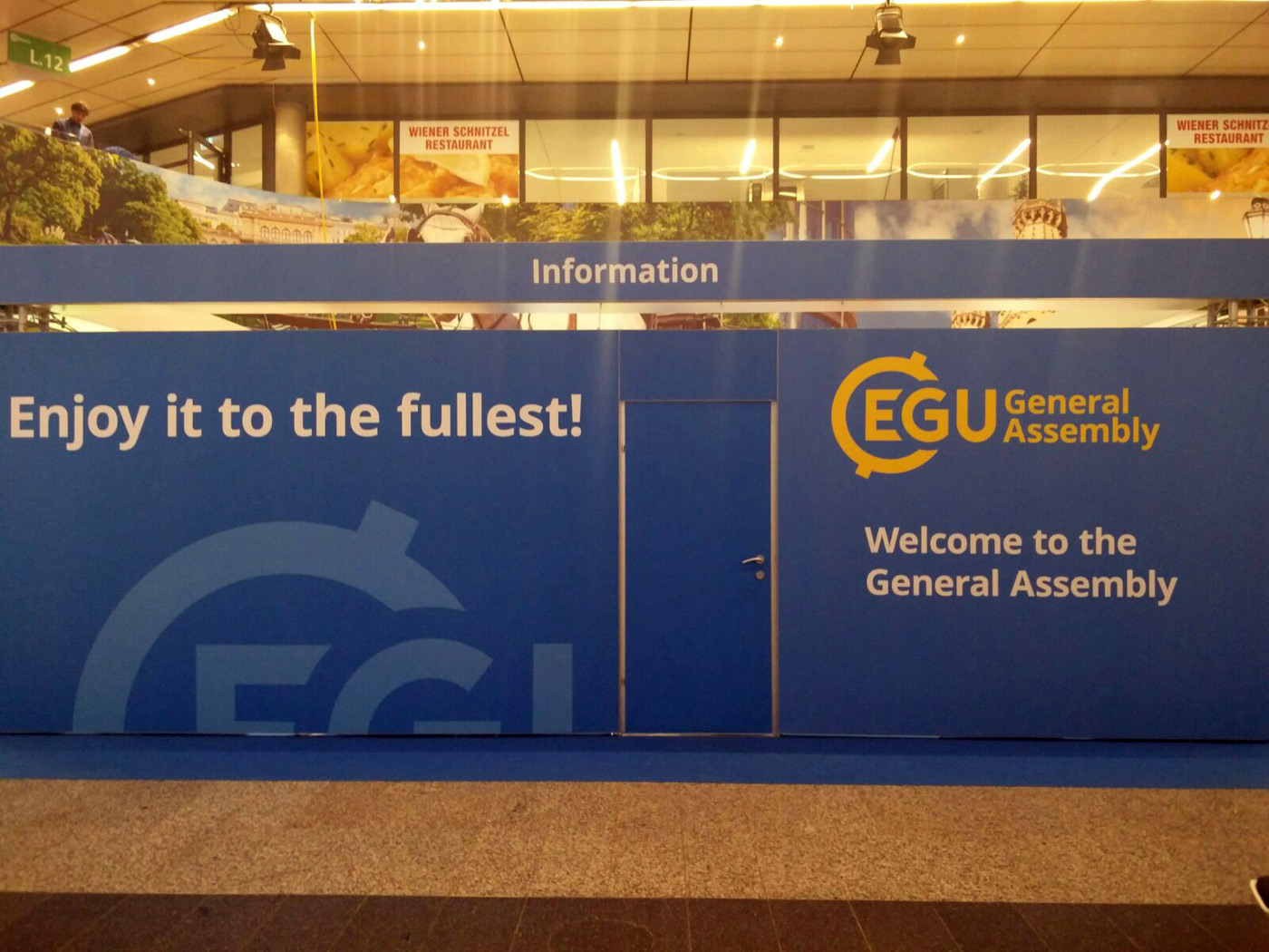 ENVICOM ASSOCIATI A VIENNA PER L'EUROPEAN GEOSCIENCES UNION GENERAL ASSEMBLY