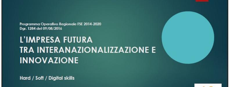 Bando per l'internazionalizzazione delle nuove realtà imprenditoriali