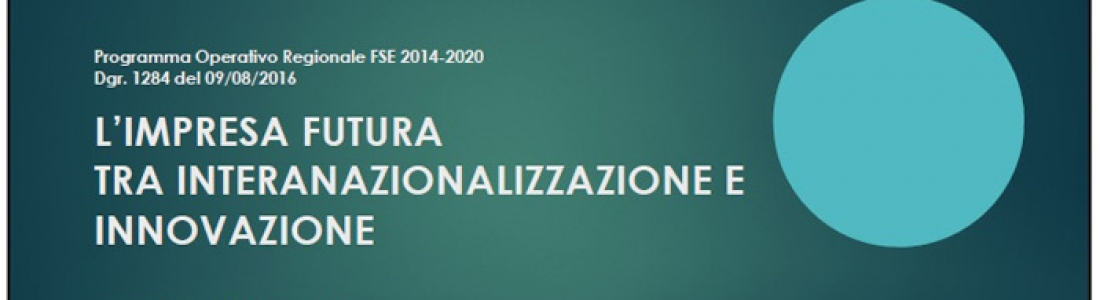 CALL FOR INTERNATIONALIZATION AND INNOVATION OF THE NEW COMPANIES