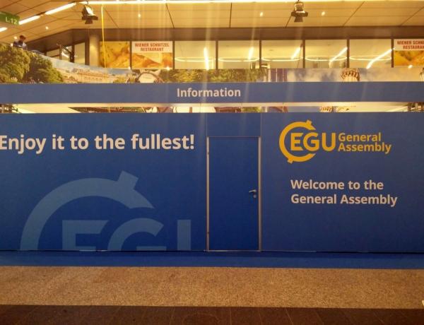 ENVICOM ASSOCIATI A VIENNA PER L'EUROPEAN GEOSCIENCES UNION GENERAL ASSEMBLY