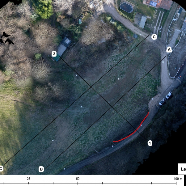 Creazzo (VI): photogrammetric survey with UAV and 3D reconstruction of a landslide